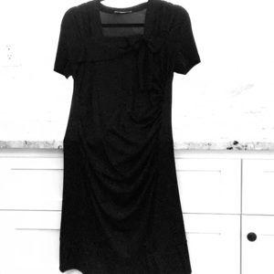 Prada black dress size Large